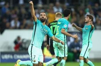 Without Messi, it's Arda! Turan proving useful as attacking alternative but Alcacer still struggling