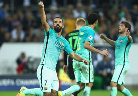 Arda proving useful as Messi back-up