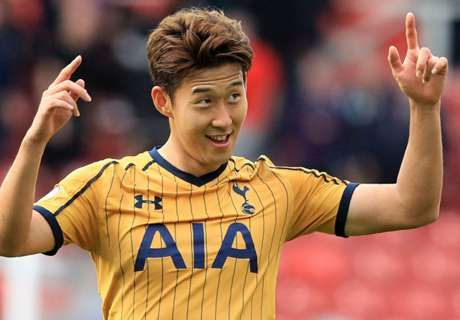 Son delighted to stay with Spurs