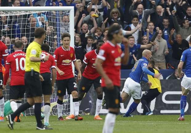 Leicester 5-3 Manchester United: Debacle de los 'Diablos Rojos'