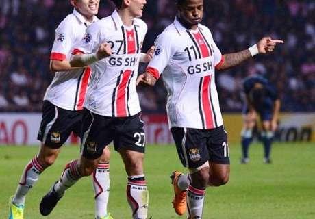 '득점 기계' 아드리아노, 무공해 축구의 마침표