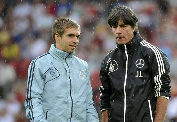 Philipp Lahm Joachim Low Germany