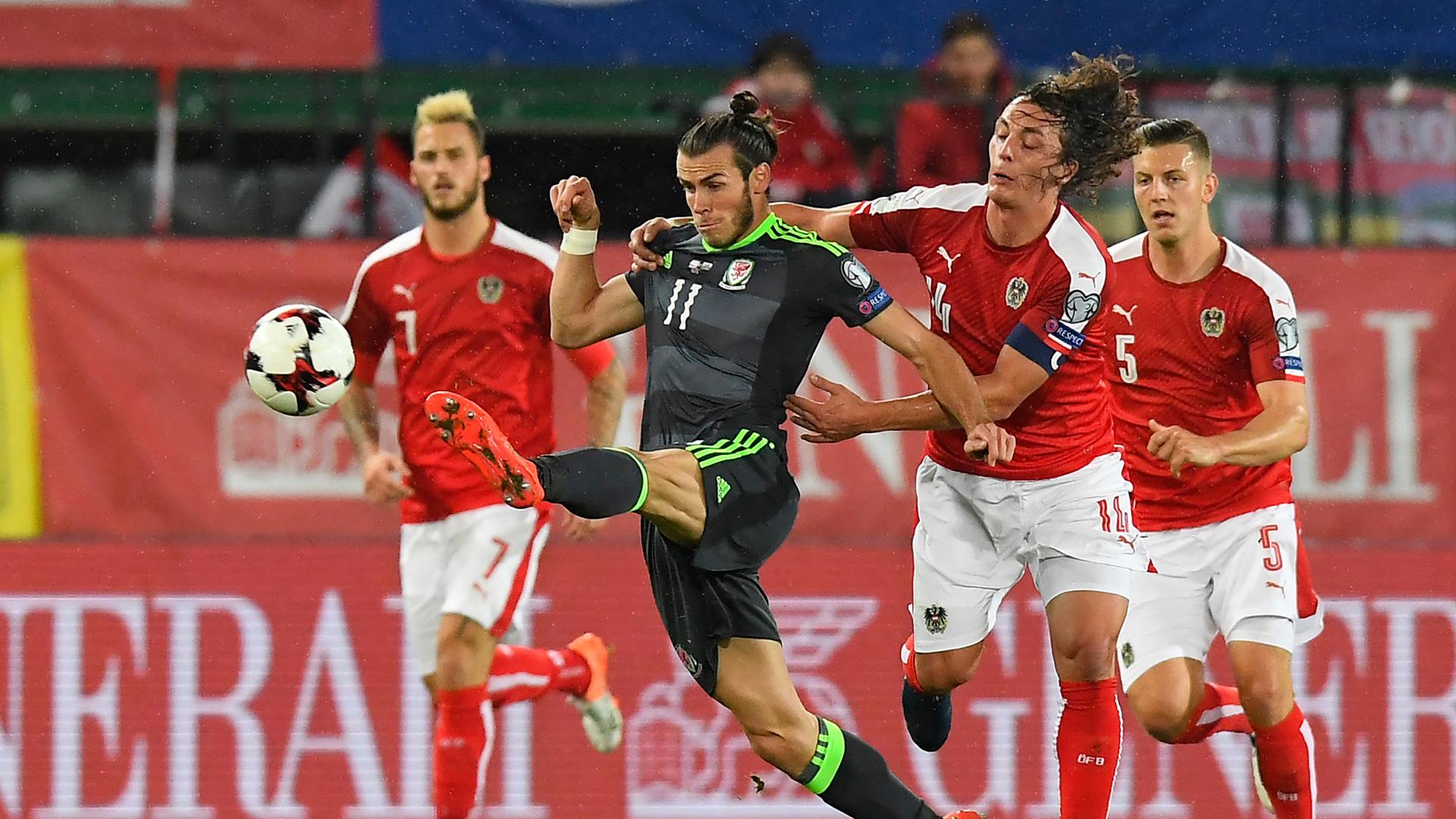 Gareth Bale Wales v Austria 2018 World Cup Qualifier