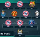 Galeria: O time da semana da Champions League