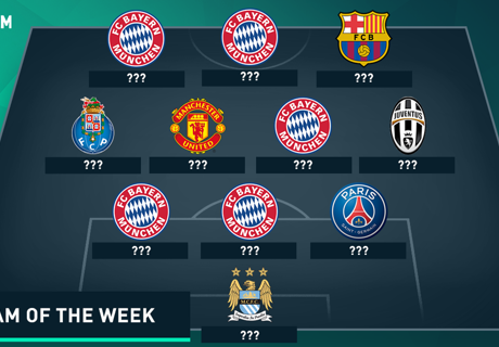 Champions League Team van de Week