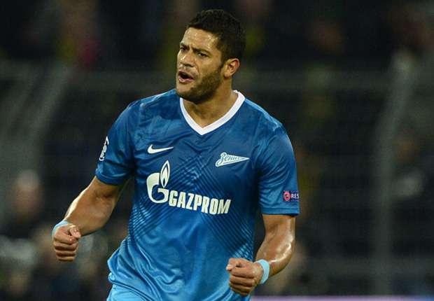 Will Zenit in die Play-Offs schießen: Der Brasilianer Hulk