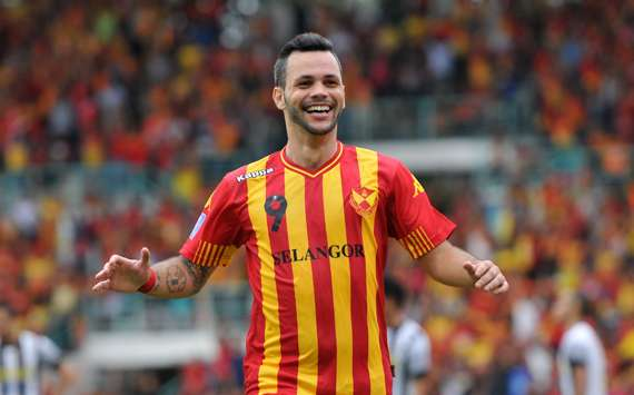The Brazilian striker has been in superb goalscoring form for Selangor.