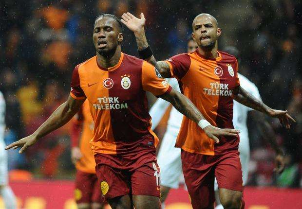Nimmt wohl Abschied: Galatasarays Didier Drogba