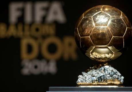 FIFA 발롱도르 최종 후보: 메시, 호날두, 네이마르