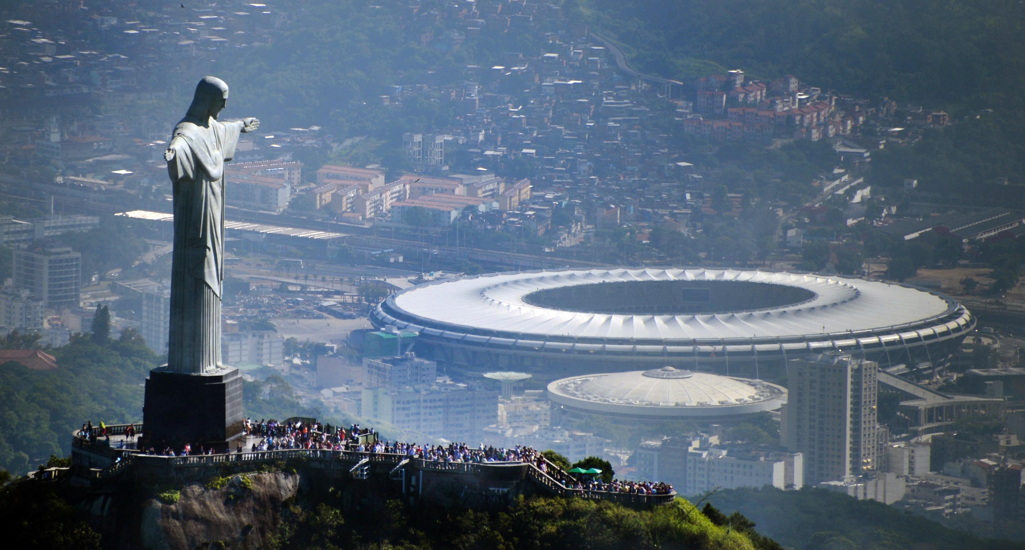 Daños en las instalaciones de los Juegos Olímpicos