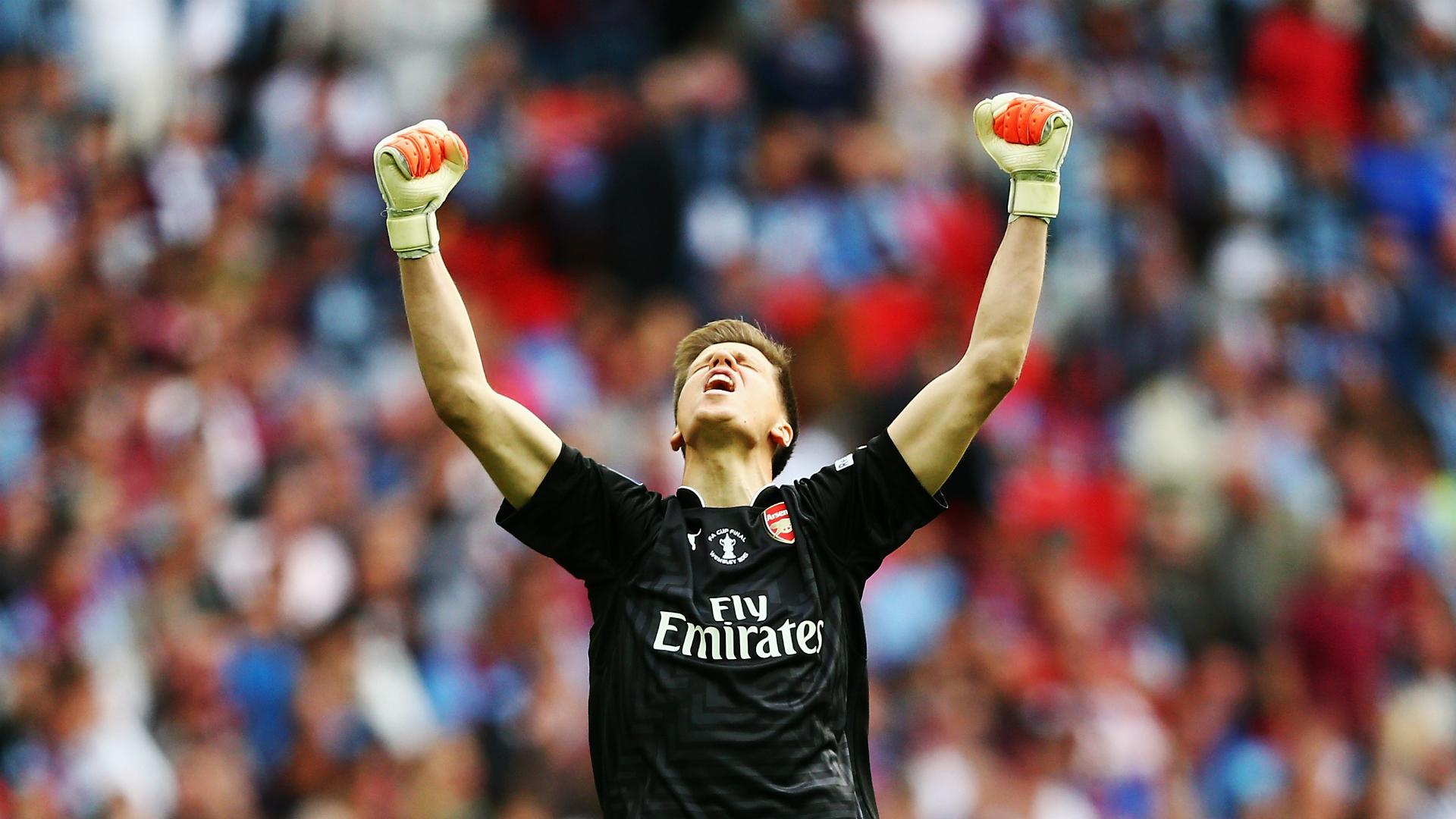 Wojciech Szczesny Arsenal Roma