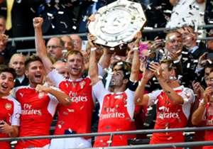 No clássico londrino os Gunners levaram a melhor hoje em Wembley: 1 a 0 e primeiro título da temporada 2015-16. Confira as imagens!