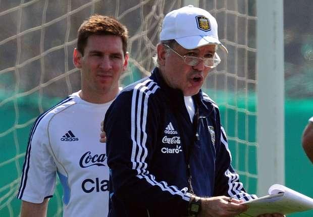 Messi didn't criticise Sabella's tactics - Andujar