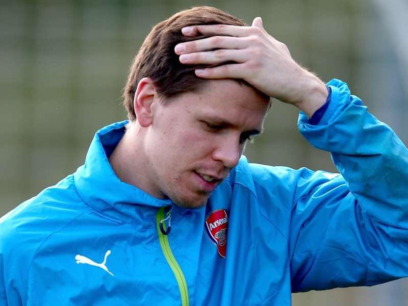 Arsenal, Szczesny pas dérangé par l'arrivée de Cech