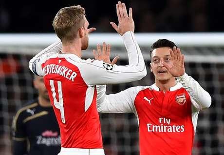 Arsenal sigue en la lucha
