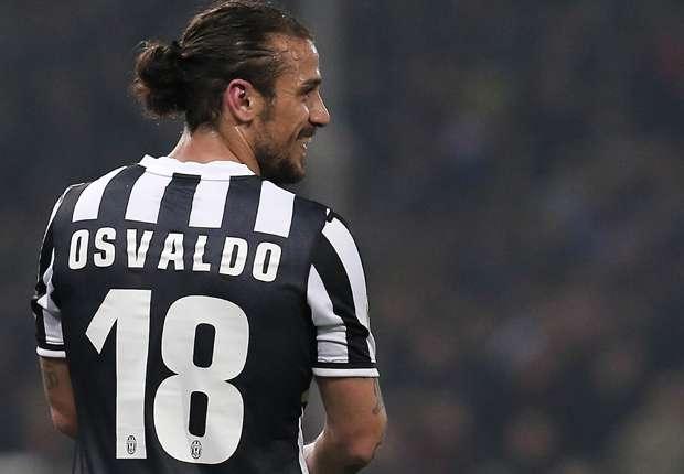 Osvaldo llegó a mitad de temporada y fue campeón con Juventus.