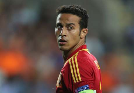 Thiago back with Spain, where he wants
