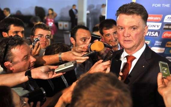 Van Gaal hoopt na het WK te starten bij Man Utd