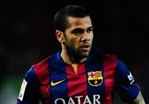 Der Vertrag von Barcelonas Dani Alves läuft zum Saisonende aus