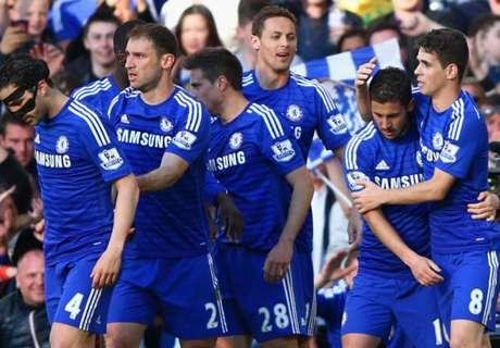 Hazard et Chelsea foncent vers le titre