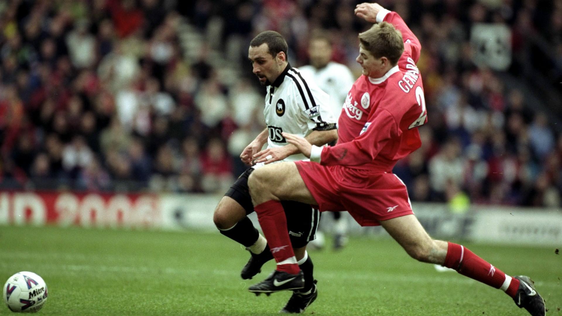 Steven Gerrard Debut Season 1998 99 Goal