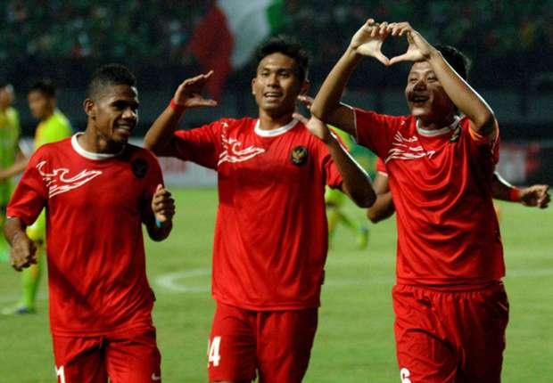 Timnas Indonesia U-19 membungkam tim Pra PON Aceh empat gol tanpa balas