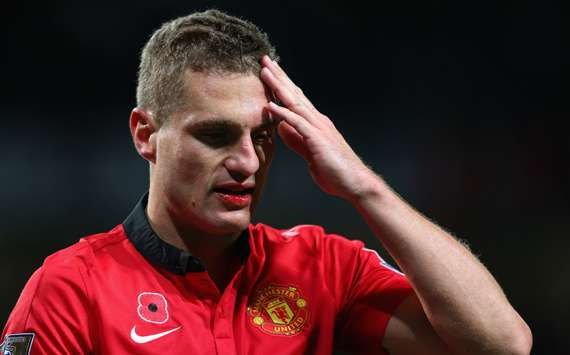 Evra: Losing Vidic will be painful