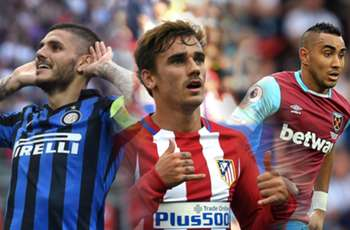 Inter, Milan, Atletico & West Ham all in action - Sunday's football LIVE!