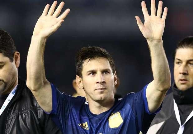 Messi vio el Brasil - Croacia