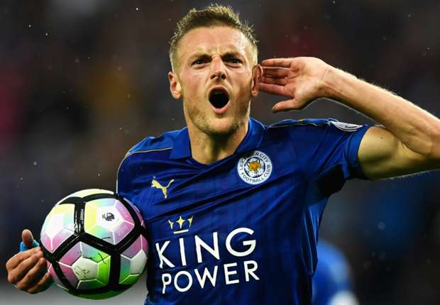 Vardy has had a rough go of it this year, and he ought to know better than to carry the ball in his arm.