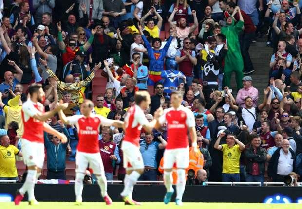 ไฮไลท์  Arsenal 4 - 0 Aston Villa