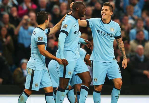 Manchester City 2-1 Swansea City: Yaya Toure boosts Blues ahead of Bayern Munich clash