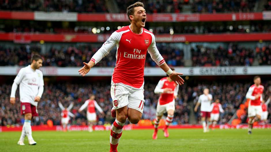 Mesut Ozil Arsenal Goal