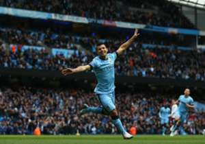 Sergio Aguero has scored four goals in his last three Premier League games after five outings without hitting the back of the net.
