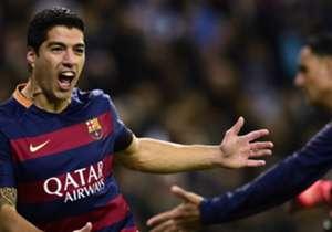 =2 | Luis Suarez | Barcellona, Spagna | 23 goal (tripletta il 14 febbraio) | fattore 2.0 | 46 punti