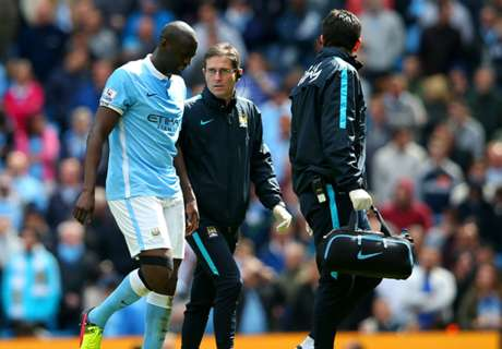 Yaya Toure a doubt for Madrid clash