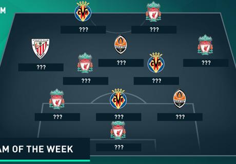 Europa League Team van de Week