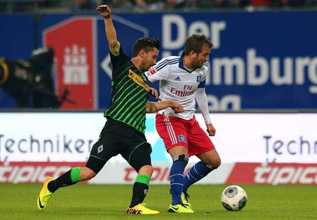 Im Hinspiel musste van der Vaart seine erste Niederlage gegen Gladbach hinnehmen