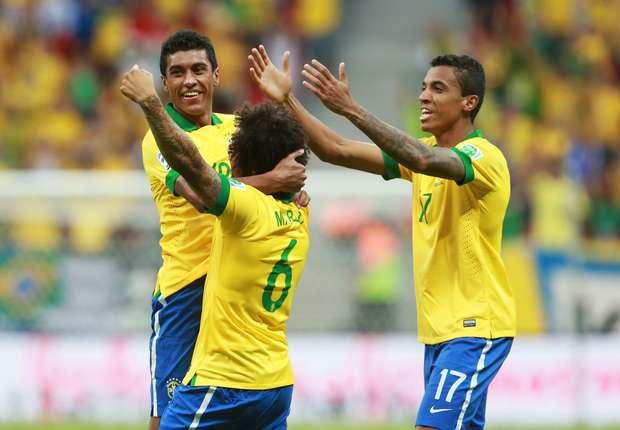 Brasiliens Stars wollen die WM gewinnen