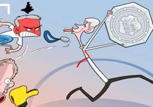 Arsène Wenger l'a fait. Après 13 matches sans victoire contre le Chelsea de Jose Mourinho, il a enfin gagné la partie et au passage le Community Shield.