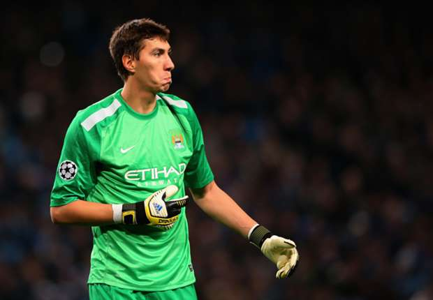 Manchester City goalkeeper Costel Pantilimon