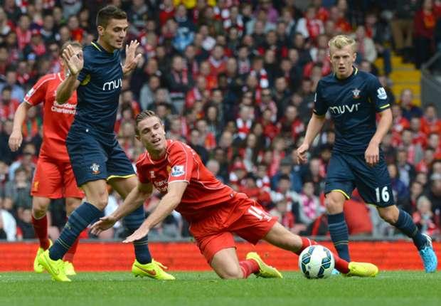 Laporan Pertandingan: Liverpool 2-1 Southampton