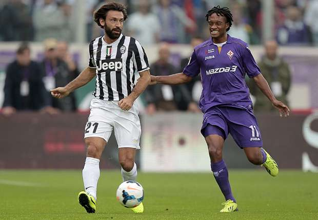 Andrea Pirlo war im Europa-League-Spiel in Florenz der Torschütze von Juventus Turin
