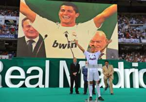On July 1, 2009 | Cristiano Ronaldo joins Real Madrid from Manchester United for a then world record fee of £80 million. On the same day six years earlier, Roman Abramovich buys Chelsea.