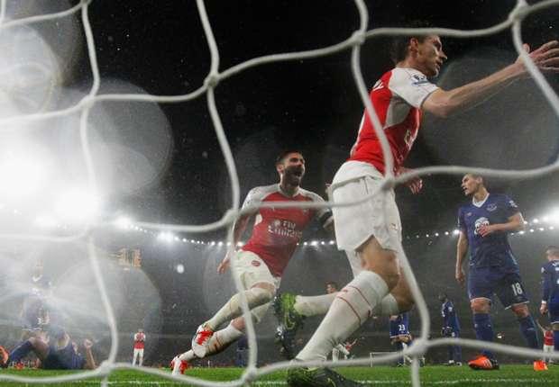 Arsenal-Everton (2-1), Arsenal remercie ses Frenchies