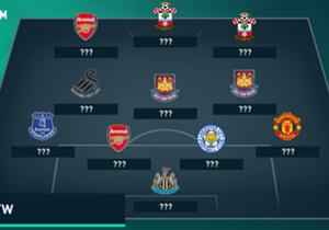 Goal präsentiert die Top-11 der Premier League. Mit dabei: ein Fast-Champion, zwei City-Bezwinger und sieben Torschützen.