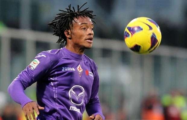 Bald komplett ein Fiorentina-Spieler: Juan Cuadrado