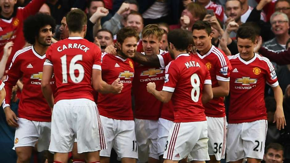 Daley Blind Manchester United Liverpool Premier League 12092015