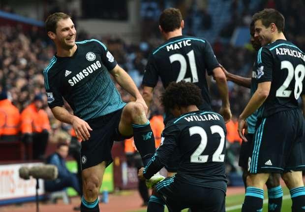 Aston Villa 1-2 Chelsea: Branislav Ivanovic ejerce de salvador