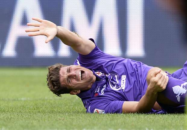 Fiorentina forward Gomez ruled out of AC Milan clash